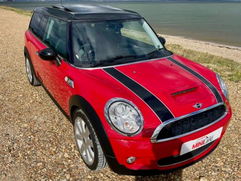 £6,982 Mini 1.6 Cooper S Clubman with Leather, Red, 2008, FSH, Sunroof Sat Nav