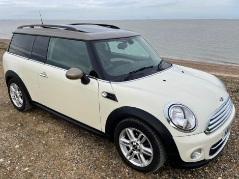 £8,982 MINI Cooper 2.0 D 5dr Auto 2014 Panoramic Sunroof and Full Leather, White