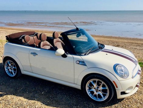 £5,972  Mini Cooper Convertible with Hot Chocolate Pack