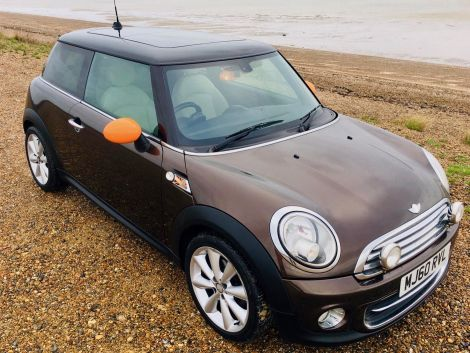 £4,982  Cooper Facelift with Full Polar Beige Leather and Panoramic Sunroof