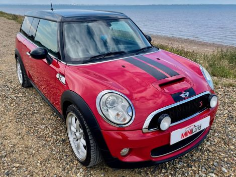 £6,492 Mini 1.6 Cooper S 5dr Clubman with Full Leather, Red, 2009, FSH