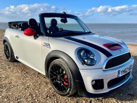 £12,982 Mini Cooper S John Cooper Works Convertible Automatic