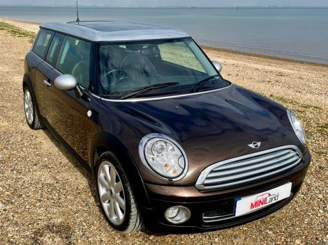 £6,782 ini 1.6 Cooper 5dr Clubman Panoramic Sunroof, Full Lounge Leather
