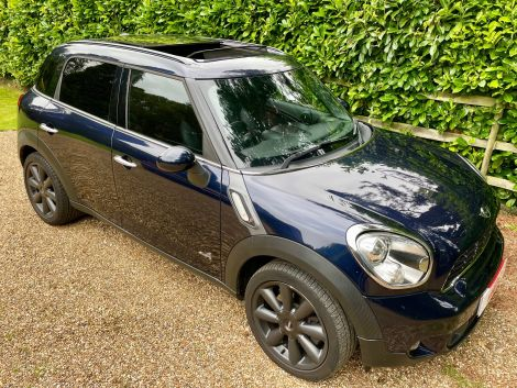 £11,982 Mini 1.6 Cooper S ALL4 5dr Auto, 2013 FSH Sunroof, Leather, Blue, FSH, HFS